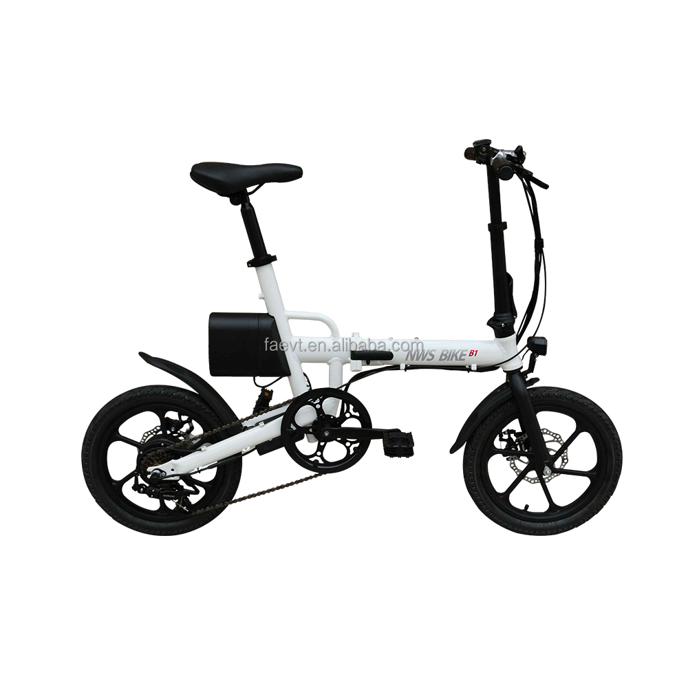 "16"" Light weight 6 speed one second fold sports pocket bike for teenager"