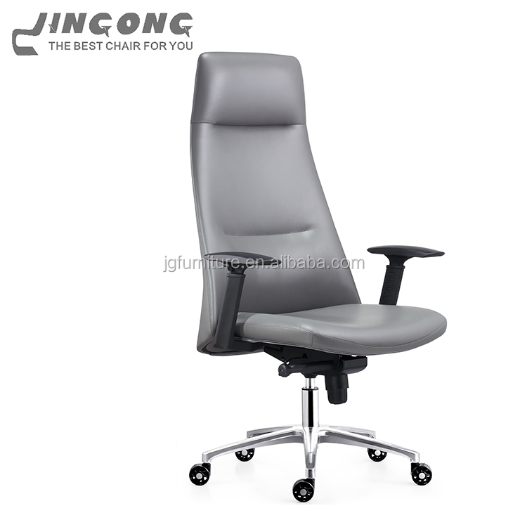 Modern Design True Seating Concepts Leather Executive Computer Office Chair Multi Functional Swivel With Wheels