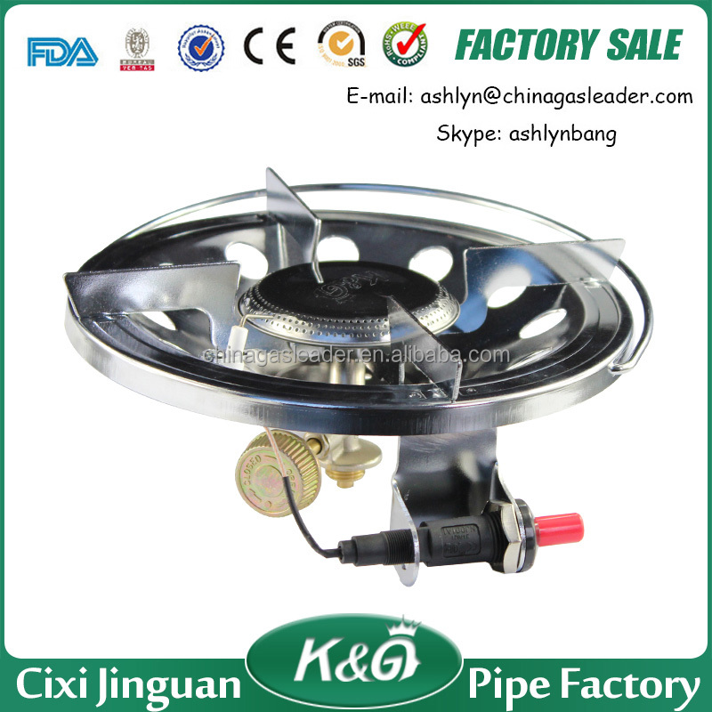 Portable camping gas stove, Electric stove for cooking, auto-ignition burner gas stove price