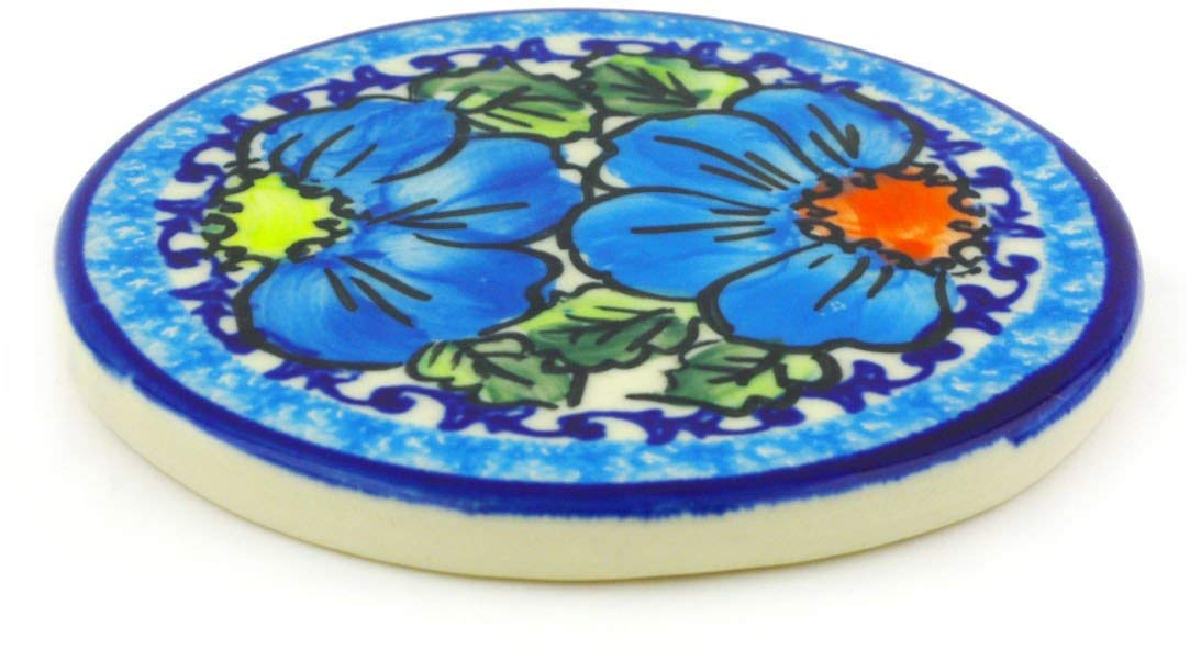 Buy Polish Pottery 3 Inch Cross Or Medallion Handmade From Boleslawiec Poland Traditional Stoneware Pattern Green Daisies In Cheap Price On Alibaba Com