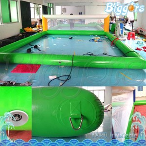 Cleaning Plastic Inflatable Beach Volleyball Court Water Park Sports Games
