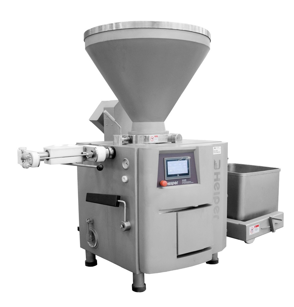 Automatic making sausage machine vacuum filler stuffing