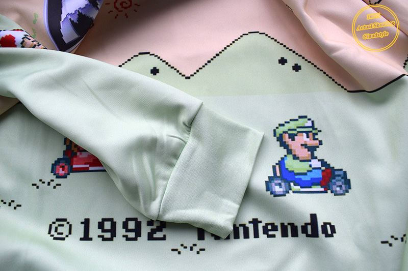 Men Hoodies Funny Cartoon Crewneck New Sweatshirt Princess Peach Luigi Character Sweatshirts 3D Print Hoodies