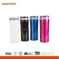 Everich 400ml custom double wall stainless steel flask manufacturing in China