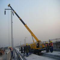 Portable High-speed railway Crane manufacturer