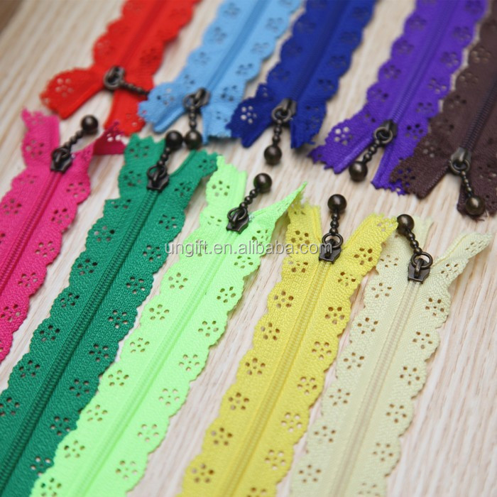 Free Shipping length 50 cm nylon Invisible zipper for Sewing cushion zipper garment accessories