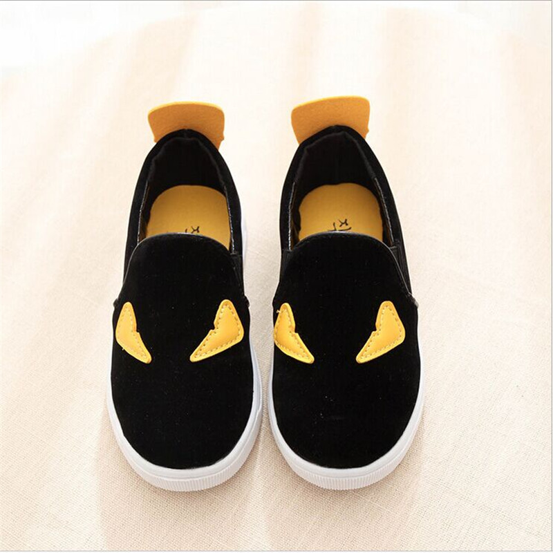 2016New Insole 16 18 5cm Boys Sports Canvas Flats Children Shoes Kids Sneakers Casual Sneakers in