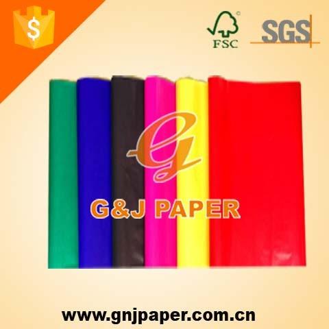 Schönheitsfarbe glasiertes Papier für die Geschenkverpackung