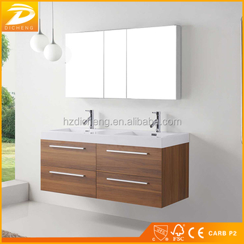 Double Sink Modern Style Cheap Wall Mounted Wholesale Bathroom