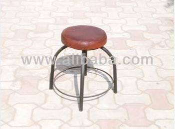 Sgabello con seduta in pelle di alta qualità industriale buy
