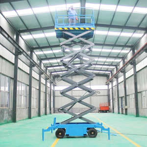 Hydraulic High Rise Window Cleaning Equipment Mobile Scissor Lift