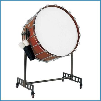 3618inch Concert Bass Drum With Stand Wood Shell