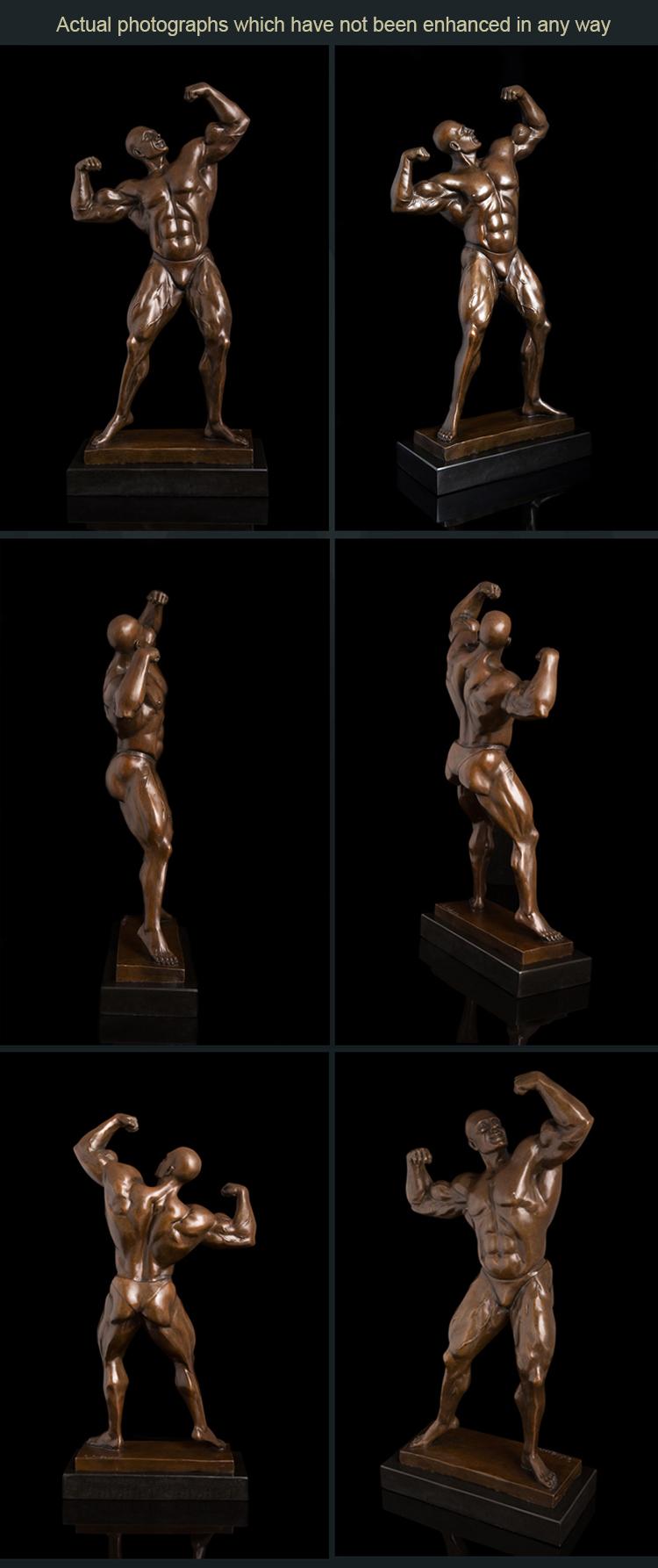 Sculpture: Male Torso Set (Miniature Male nude Torso