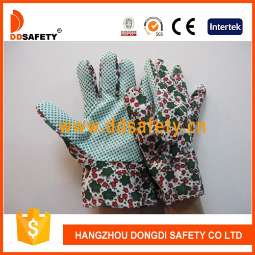 Gardening Gloves PVC Dots On Palm Safety Working Gloves