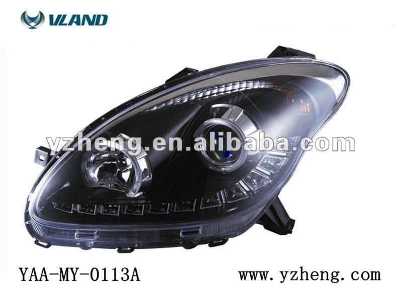 Vland car head light for Perodua headlight Myvi headlamp Myvi LED frontlight factory wholesale