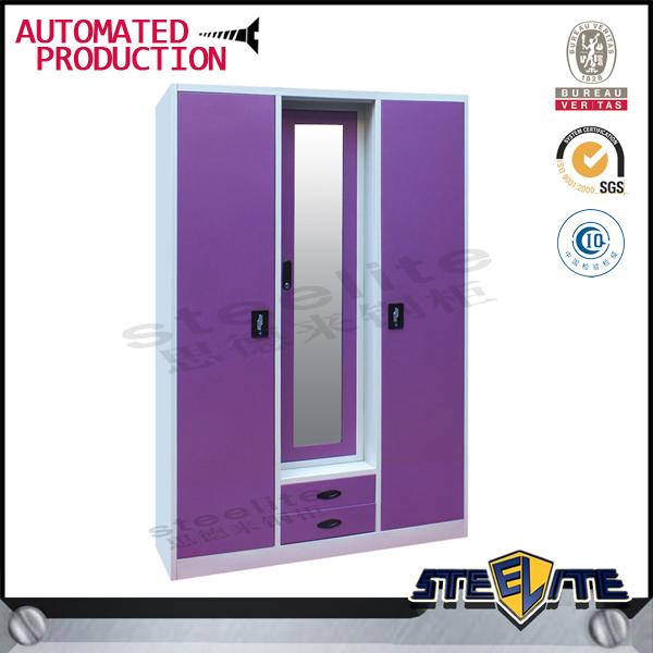 Bedroom Steel Or Iron Almirah Cupboard Designs Indian