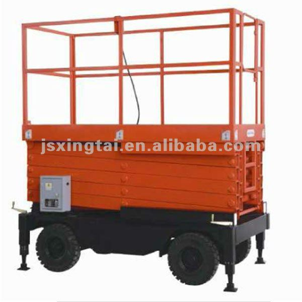 mobile electric lift work platform