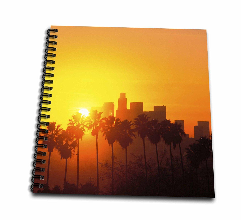 Danita Delimont - Peter Bennett - California - Los Angeles Skyline, California, USA - Memory Book 12 x 12 inch (db_191702_2)