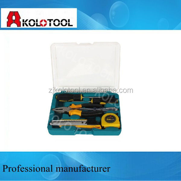 Mini Household Tool set, names of plumbers tools kit,tooling special tools(tools case set )