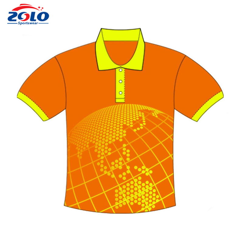 Direct Factory Sale Polo,100% Polyester Full Sublimated Polo Shirt