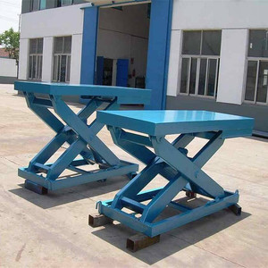 China Tavol Brand Stationary Scissor Lift For Cars