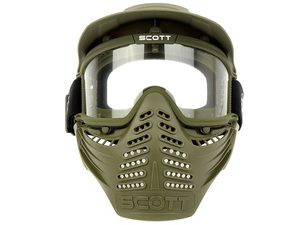 GZ9-0001 tactical full face mask/ airsoft mask with goggles /paint ball mack