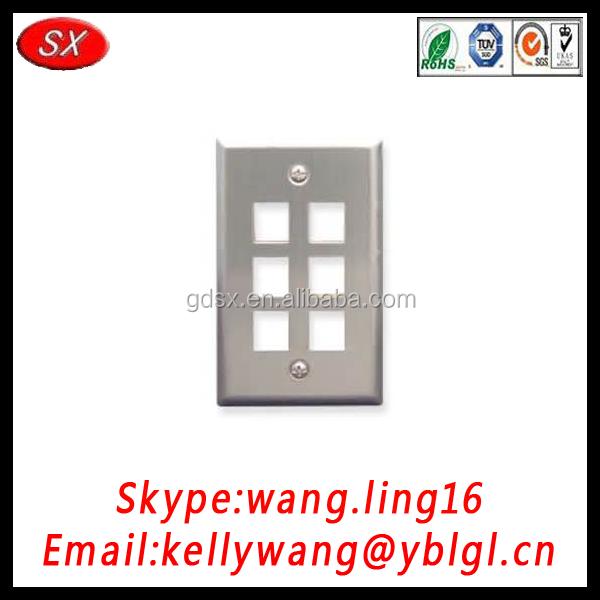 China manufacture customized face plate with RoHS standard
