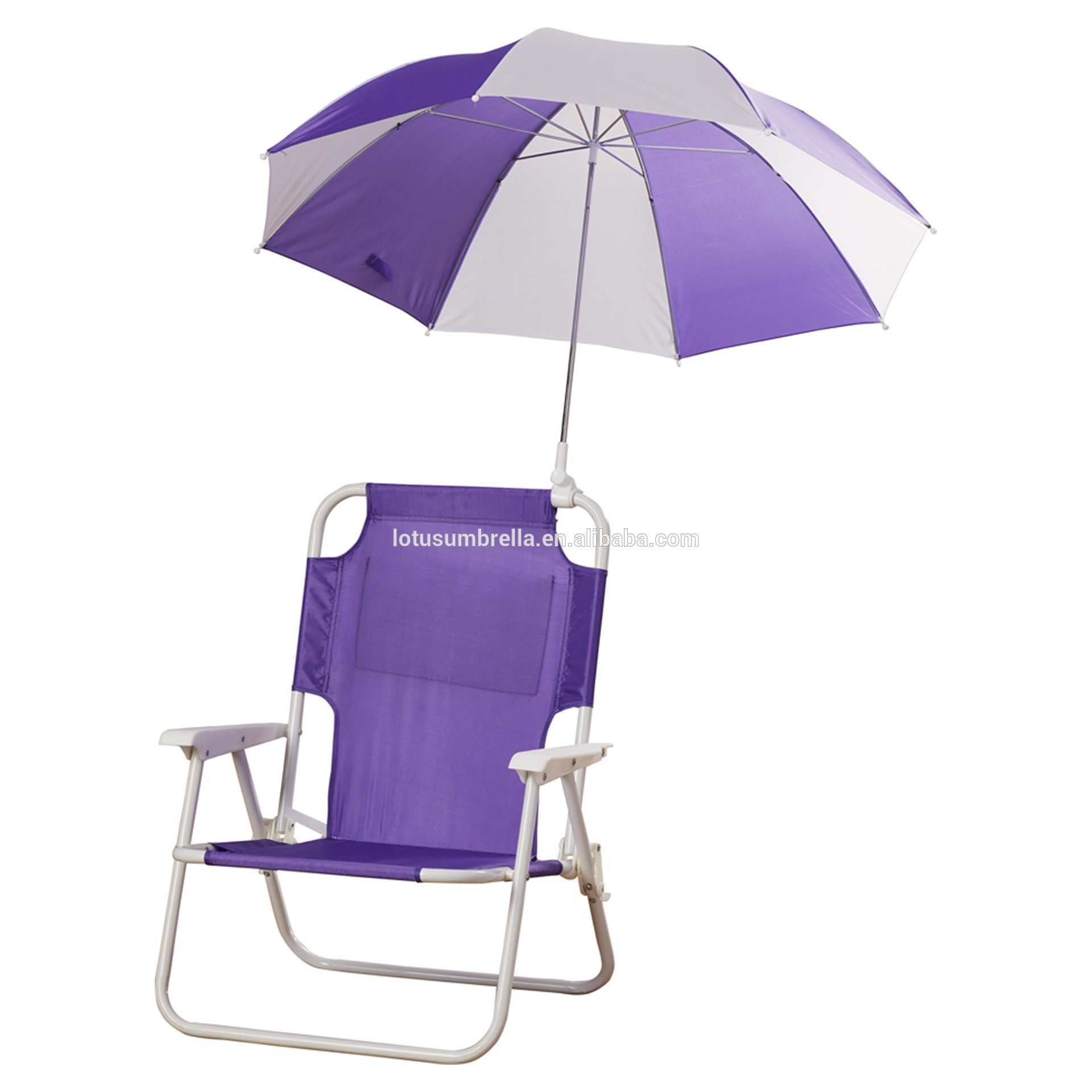 8K promotion clamp beach chair umbrella