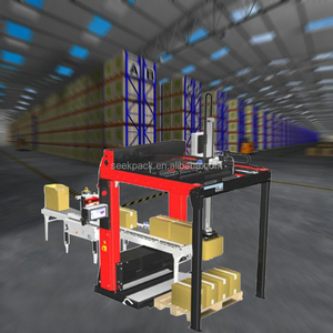 Full-Automatic Intelligent Smart Robotic Palletizer For Small Carton
