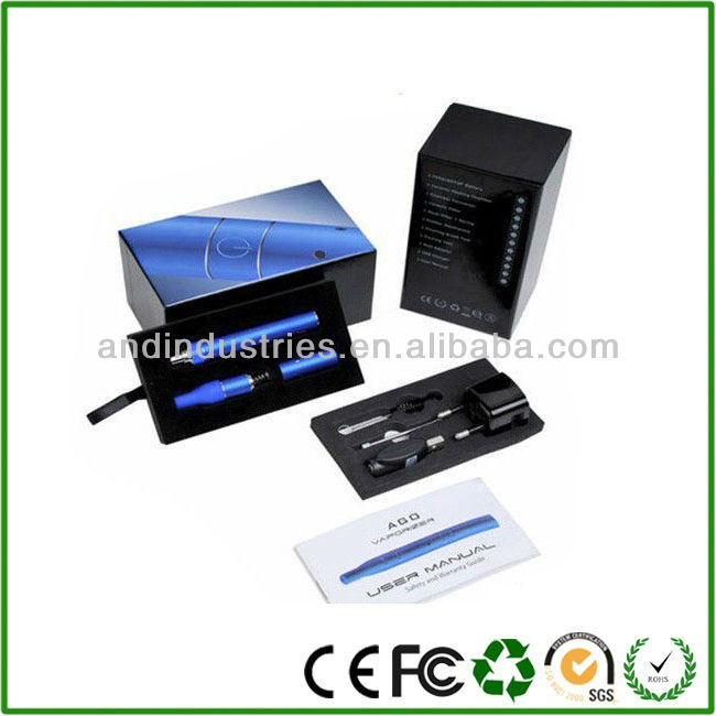 AGO G5 Atomizer for Dry Herb or Dry Tobacco. 1 650mAh Battery, 1 Ceramic Heating Chamber, 1 Chamber Connector