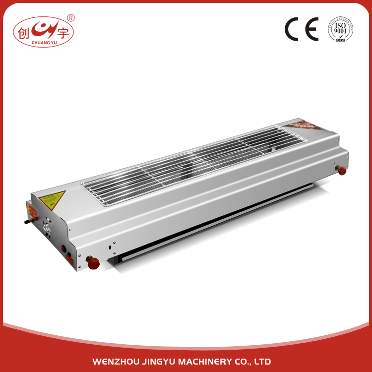 Chuangyu Wenzhou Manufacture Table Top 120-16# Gas Barbecue Grill BBQ Machine