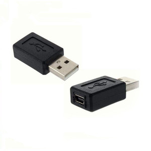 USB A Male to Mini B 5 Pin Female Adapter Converter New For Apad Tablet pc Cellphone