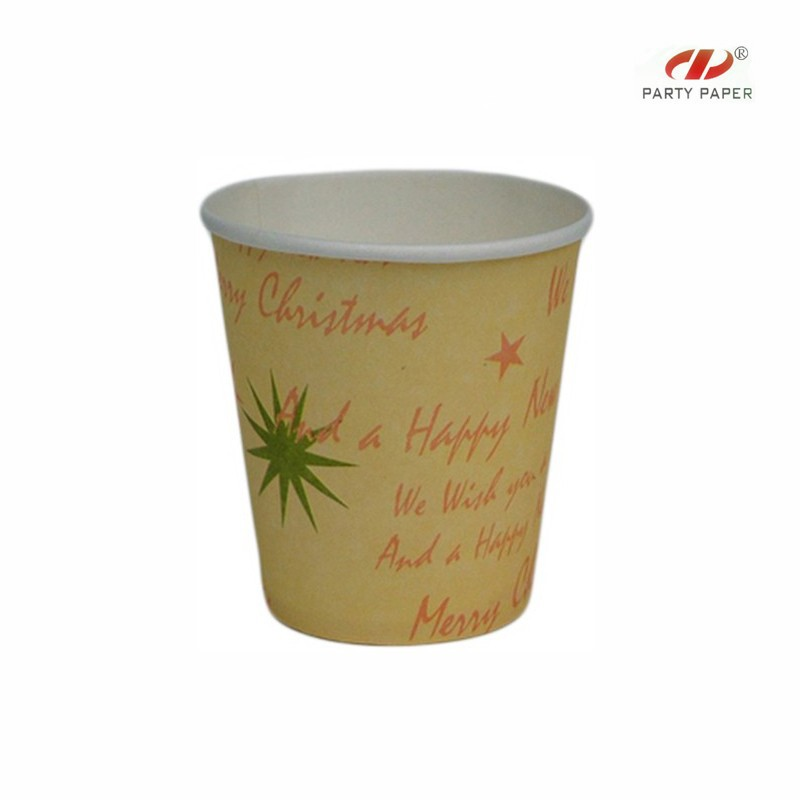 Low price printed personalized yellow tea cup and saucer wholesale