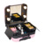 Aluminum Frame Makeup Train Cosmetic Bag Case With Lights