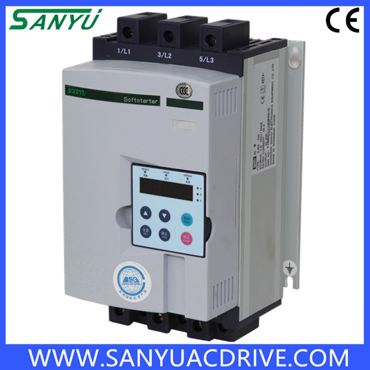 Ce Approved Energy-saving 3phase Soft Starter 55kw Sjr2-2055