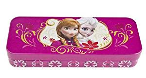 Best Frozen Tin Pencil Box - Frozen Elsa and Anna Sisters Pencil Box. From the Hit Movie Frozen. Tin Pencil Boxes Make G