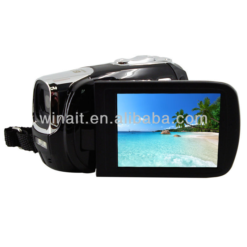 5.0 Mega Pixels CMOS sensor Full HD 1080P digital video camera with HDMI port