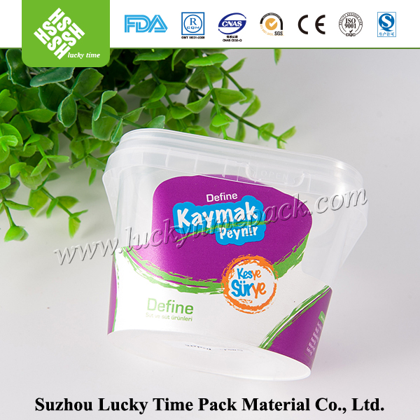 PS plastic cup small plastic cup with gravure printing process
