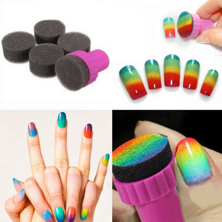 Cheap nail design stamp kit find nail design stamp kit deals on get quotations 2015 hot sell miraculous nail art sponge stamp stamping polish template transfer diy design kit deco prinsesfo Image collections