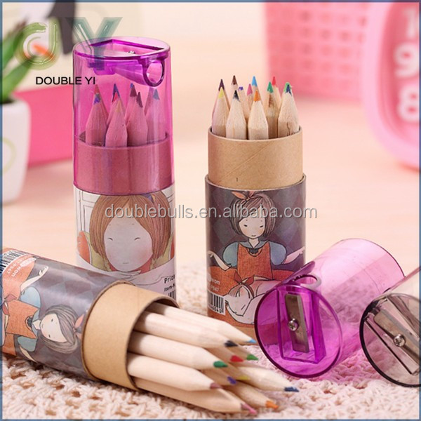 customized/wholesale children wood mini lovely stationary pencil sets
