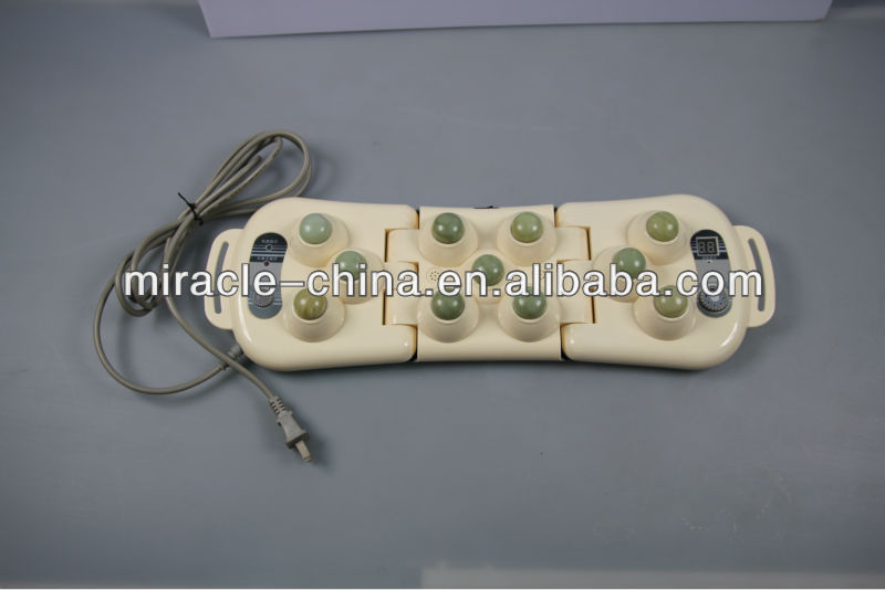 Handheld jade massager