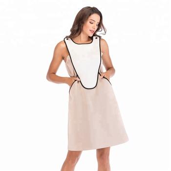 83b8439dd5 aliexpress Hot Sale short sleeves teenage girl scub diving neoprene fabric  street wear boho dress