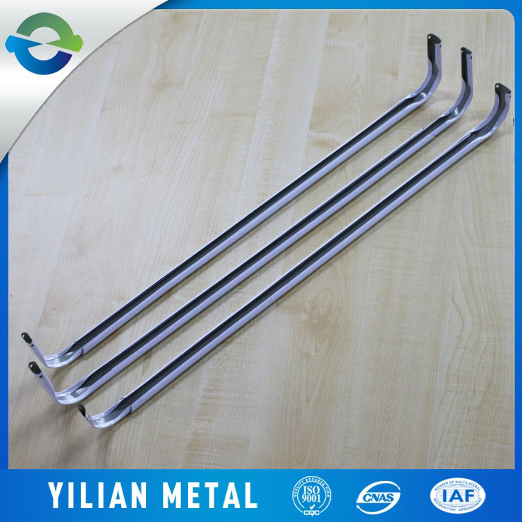 Best quality extendable White Single or double Curtain Rod