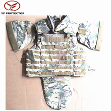 AK 47 CAMOUFLAGE BULLETPROOF VEST WITH MOLLE SYSTEM