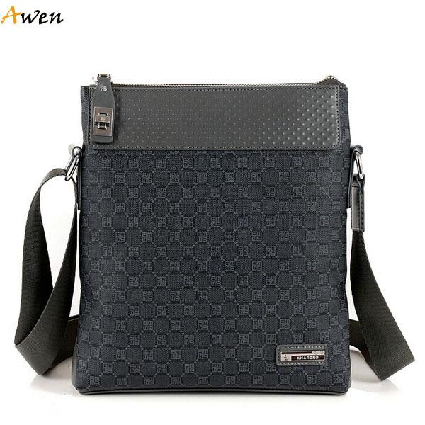 Get Quotations · Awen hot sell vintage fashion casual mens messenger bag  with cross lock ebc6b4b7c19e6