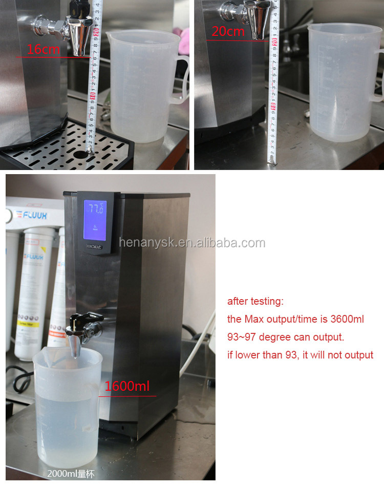 25L Electric Portable Automatic Water Heater Dispenser Boiler Kettle Tank Drinking Machine