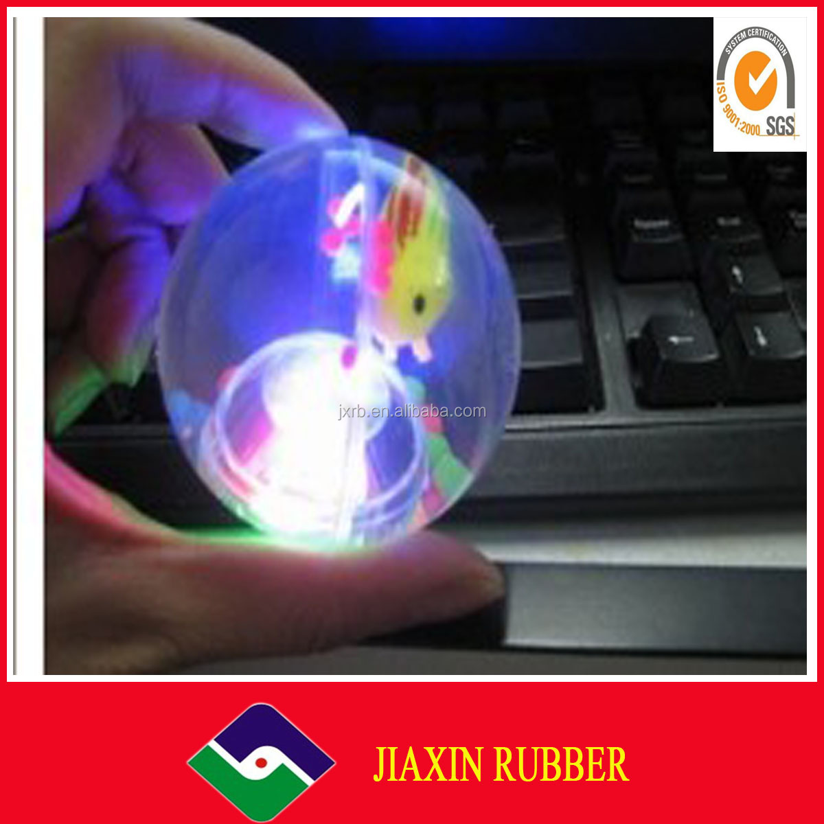 2014 RUBBER YO-YO TOY BALL/pu stress ball toy