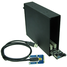 Mini PCIe To 2 PCI 32bit slots adapter PCI express mini card to PCI 3.0 controller Sound Card Network card graphics card