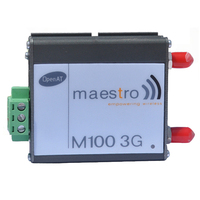 Top quality RS232/ RS485 3G GSM GPRS Maestro 100 Modem Support Data, SMS, Voice and Fax
