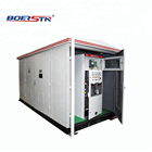 Electric 2.5 Electrical Cubicle Switchgear Outdoor Complete Metal Compact Kiosk Transformer Substation Electric Utility EEU 200KVA 315KVA 400KVA Upto 2.5 MVA